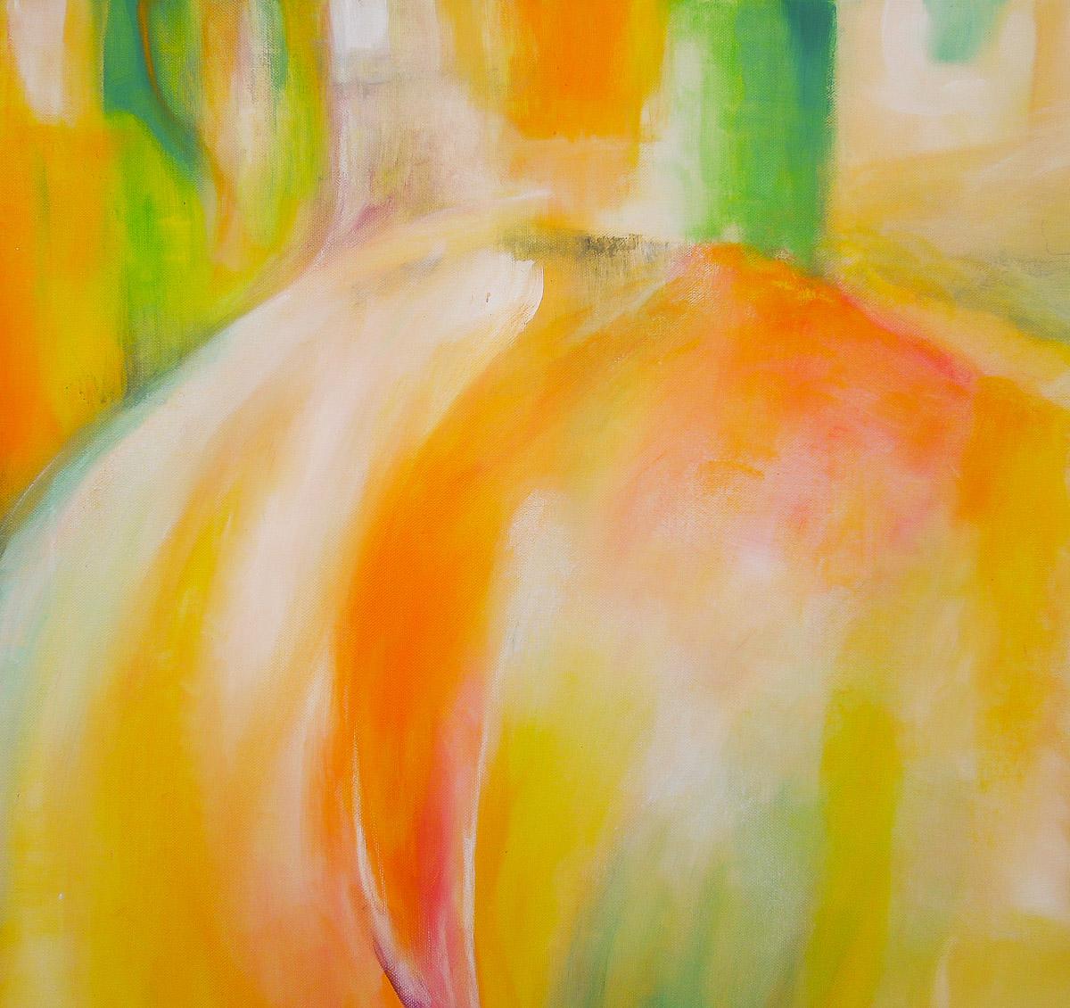 Annehmen   60 x 60 cm    Acryl auf Leinwand