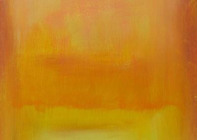 Homage an Rothko   30 x 44 cm   Acryl auf Leinwand