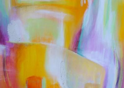 Ruhe   60 x 60 cm   Acryl auf Leinwand